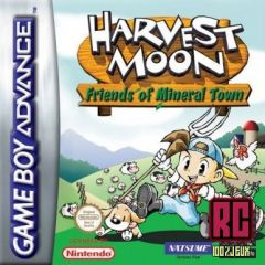 Jaquette de Harvest Moon : Friends of Mineral Town Game Boy Advance