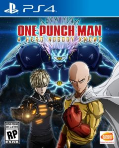 Jaquette de One Punch Man : A Hero Nobody Knows PS4