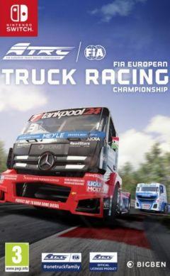 Jaquette de FIA European Truck Racing Championship Nintendo Switch
