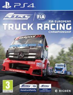 Jaquette de FIA European Truck Racing Championship PS4