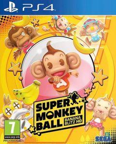 Jaquette de Super Monkey Ball : Banana Blitz HD PS4