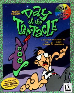 Jaquette de Day of the Tentacle PC