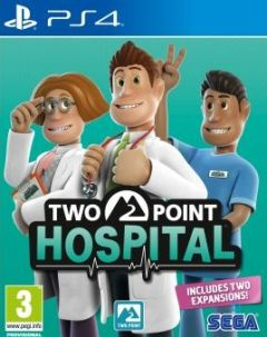 Jaquette de Two Point Hospital PS4