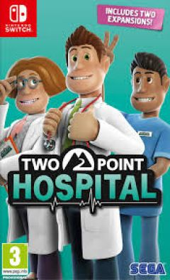 Jaquette de Two Point Hospital Nintendo Switch
