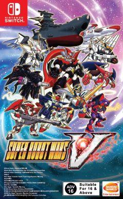 Jaquette de Super Robot Taisen V Nintendo Switch