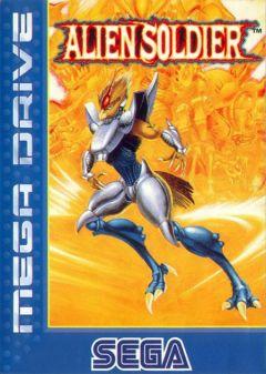 Jaquette de Alien Soldier Mega Drive