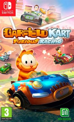 Jaquette de Garfield Kart Furious Racing Nintendo Switch