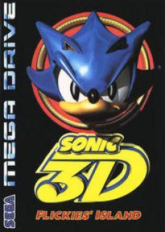 Jaquette de Sonic 3D : Flickies' Island Mega Drive