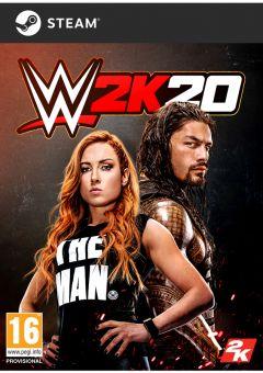 Jaquette de WWE 2K20 PC