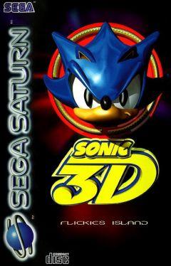 Jaquette de Sonic 3D : Flickies' Island Sega Saturn