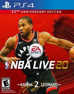 Jaquette de NBA Live 20 PS4