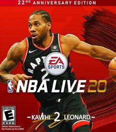Jaquette de NBA Live 20 Xbox One