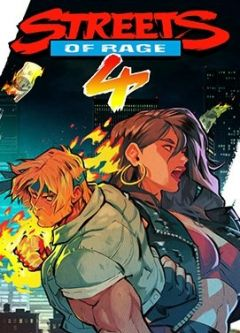 Jaquette de Streets of Rage 4 Xbox One