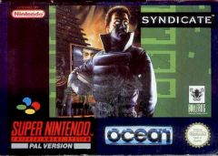 Jaquette de Syndicate (Original) Super NES