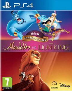 Jaquette de Aladdin and The Lion King PS4