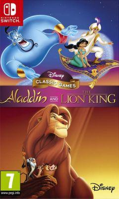 Jaquette de Aladdin and The Lion King Nintendo Switch