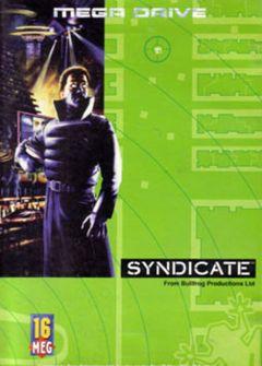 Jaquette de Syndicate (Original) Mega Drive