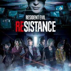 Jaquette de Resident Evil Resistance PS4