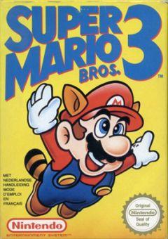 Jaquette de Super Mario Bros. 3 NES