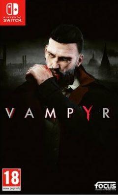 Jaquette de Vampyr Nintendo Switch