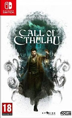 Jaquette de Call of Cthulhu Nintendo Switch