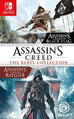 Jaquette de Assassin's Creed : The Rebel Collection Nintendo Switch