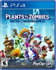 Jaquette de Plants vs. Zombies : Battle for Neighborville PS4