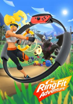 Jaquette de Ring Fit Adventure Nintendo Switch