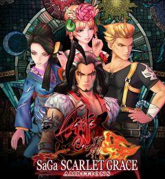 Jaquette de SaGa : Scarlet Grace PS4