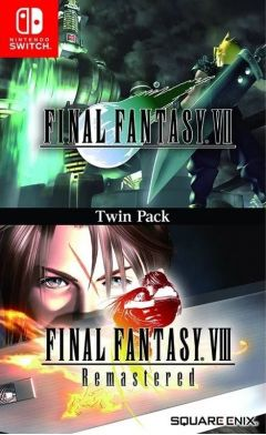 Jaquette de Final Fantasy VII & Final Fantasy VIII Remastered - Twin Pack Nintendo Switch