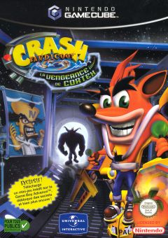 Jaquette de Crash Bandicoot : La Vengeance de Cortex GameCube