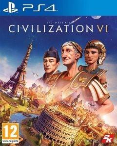 Jaquette de Sid Meier's Civilization VI PS4