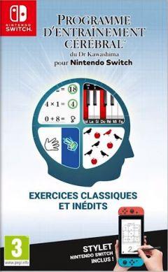 Jaquette de Programme d'entraînement cérébral du Dr Kawashima pour Nintendo Switch Nintendo Switch