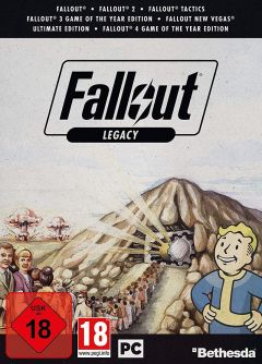 Jaquette de Fallout Legacy Collection PC