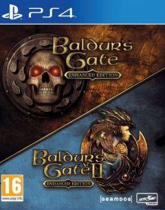 Jaquette de Baldur's Gate I & II Enhanced Edition PS4