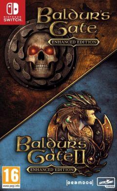 Jaquette de Baldur's Gate I & II Enhanced Edition Nintendo Switch