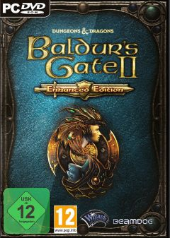 Jaquette de Baldur's Gate II : Enhanced Edition PS4