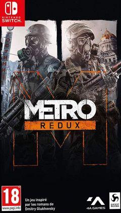 Jaquette de Metro Redux Nintendo Switch
