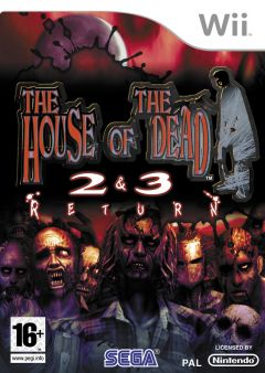 Jaquette de The House of the Dead 2&3 Return Wii