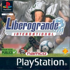 Jaquette de Libero Grande International PlayStation