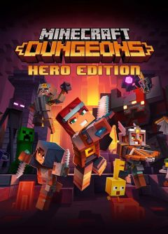 Jaquette de Minecraft Dungeons PS4