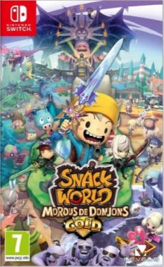 Snack World : Mordus de Donjons Gold