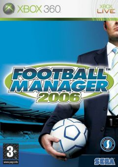Jaquette de Football Manager 2006 Xbox 360