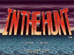 Jaquette de In The Hunt Sega Saturn