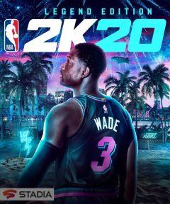 Jaquette de NBA 2K20 Google STADIA