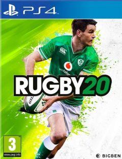 Jaquette de Rugby 20 PS4