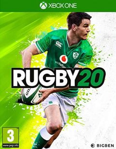 Jaquette de Rugby 20 Xbox One