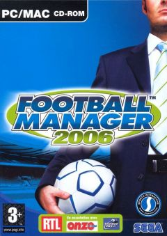 Jaquette de Football Manager 2006 PC