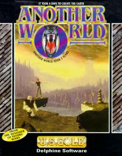 Jaquette de Another World Amiga