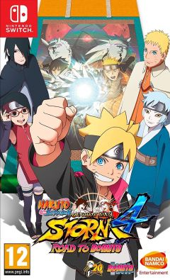 Jaquette de Naruto Shippuden Ultimate Ninja Storm 4 - Road to Boruto Nintendo Switch